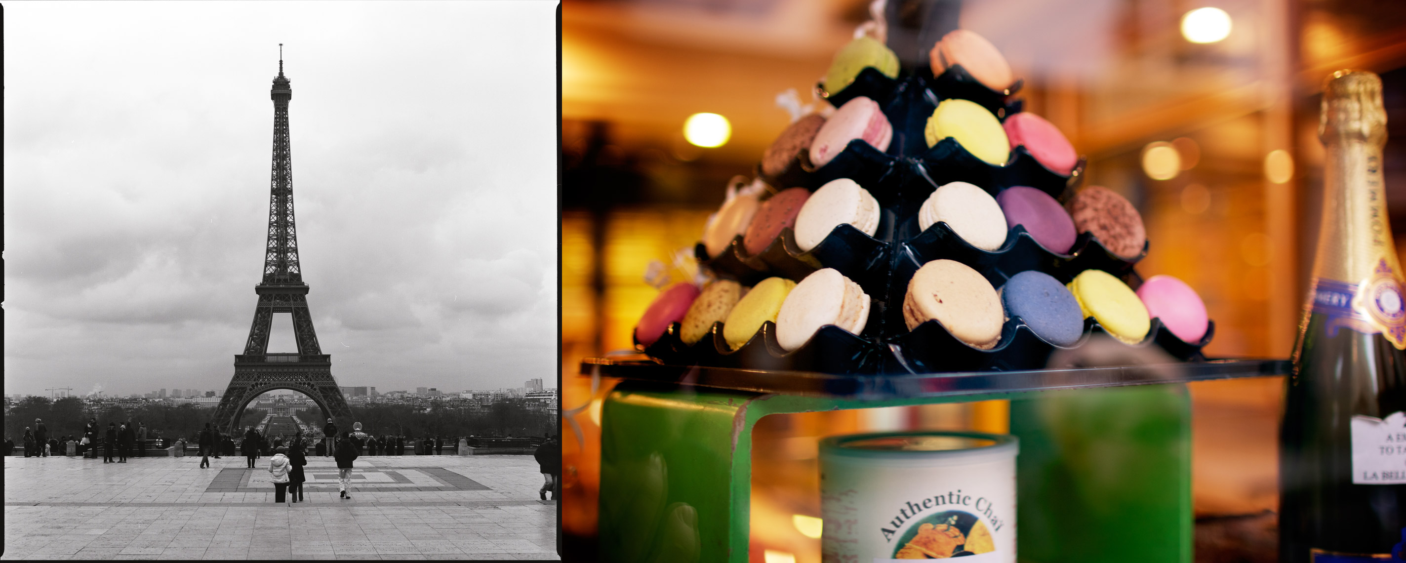 Eiffel Tower and Macaroons, Paris